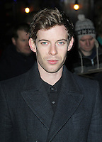 LONDON - DECEMBER 13: Luke Treadaway attended the English National Ballet Christmas Party at St Martins Lane Hotel, London, UK. December 13, 2012. (Photo by Richard Goldschmidt)