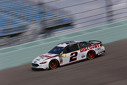 November 17, 2018 - Homestead, Florida, U.S. - Brad Keselowski (2) takes to the track to practice for the Ford 400 at Homestead-Miami Speedway in Homestead, Florida. (Credit Image: © Justin R. Noe Asp Inc/ASP)