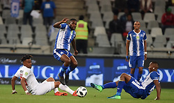 Cape Town-180519 Free State Stars Nhlanhla Vilakazi  challenged by Fortune Makaringe of Maritzburg United in the Nedbank Cup final at Cape Town stadium .photograph:Phando Jikelo/African News Agency/ANA