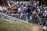 Nikolas Nestoroff (USA) on his downhill run at the 2018 UCI MTB World Championships - Lenzerheide, Switzerland