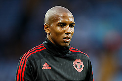 Ashley Young of Manchester United looks on - Mandatory byline: Rogan Thomson/JMP - 07966 386802 - 14/08/2015 - FOOTBALL - Villa Park Stadium - Birmingham, England - Aston Villa v Manchester United - Barclays Premier League.