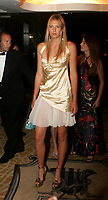 Tennis<br /> Wimbledon 2004<br /> Foto: Fotosports/Digitalsport<br /> NORWAY ONLY<br /> <br /> Maria Sharapova from Russia arrives for the traditional Wimbledon Ball. This is  Sharapova's first Grand Slam victory