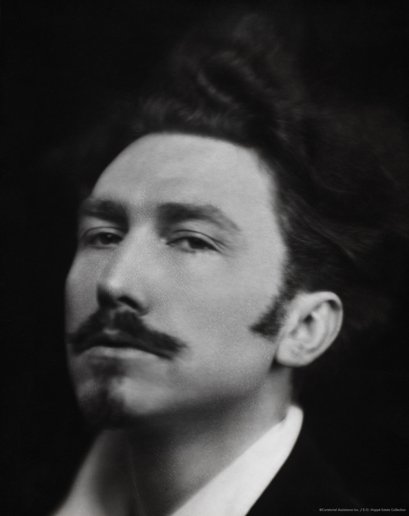 Ezra Pound, writer, critic, poet, USA, 1918