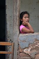 Guarani girl in Yapiroa, Izozog, Santa Cruz, Bolivia