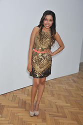 DIONNE BROMFIELD at the Sass & Bide fashion show as part of London Fashion Week Spring Summer 2013 held at the Lindley Hall, Royal Horticultural Halls, London SW1 on 14t September 2012.
