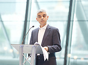 Sadiq Khan, Mayor launches a search for the first ever London Borough of Culture at a ceremony at City Hall, London, Great Britain <br /> 30th June 2017 <br /> <br /> <br /> <br /> <br /> Sadiq Khan, Mayor London <br /> <br /> <br /> <br /> Photograph by Elliott Franks <br /> Image licensed to Elliott Franks Photography Services