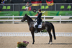 Burton Christopher, AUS, Santano II<br /> Dressage test evening<br /> Olympic Games Rio 2016<br /> © Hippo Foto - Dirk Caremans<br /> 06/08/16