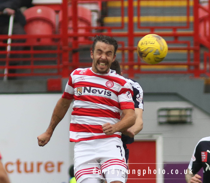 Hamilton Academical's Dougie Imrie  - Hamilton Academical v Dundee, Ladbrokes Premiership at New Douglas Park<br /> <br /> <br />  - &copy; David Young - www.davidyoungphoto.co.uk - email: davidyoungphoto@gmail.com