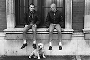 Neville, Gretsch and George, London, UK, 1980s.