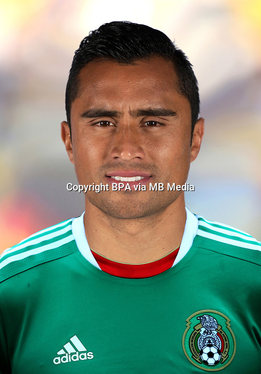 Football Fifa Brazil 2014 World Cup / <br /> Mexico National Team - <br /> Edwin HERNANDEZ of Mexico