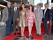 Debra Messing Honored With A Star On The Hollywood Walk Of Fame - 6 Oct 2017