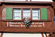Immenstaad, Fachwerkhaus Schwörerhaus von 1578, Bodensee, Baden-Württemberg, Deutschland