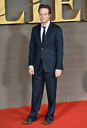 © Licensed to London News Pictures. 21/11/2016. London, UK. AUGUST DIEHL attends the Allied UK film premiere at Odeon Leicester Square, London. The film follows two assassins who fall in love during a mission to kill a Nazi official during World War II. Photo credit: Ray Tang/LNP