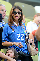 """MOGLIE DIAMANTI (Italia)<br /> Danzica 10/06/2012  """"GDANSK ARENA""""<br /> Football calcio Europeo 2012  Spagna Vs Italia <br /> Football Calcio Euro 2012<br /> Foto Insidefoto Alessandro Sabattini"""