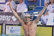 SCOZZOLI Fabio Esercito Record Italiano 26.73<br /> 50 rana uomini<br /> Riccione 14-04-2018 Stadio del Nuoto <br /> Nuoto campionato italiano assoluto 2018<br /> Photo &copy; Andrea Staccioli/Deepbluemedia/Insidefoto