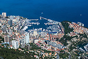 May 21, 2014: Monaco Grand Prix: Monaco harbor from above.