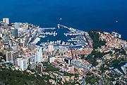 May 21, 2014: Monaco Grand Prix: Monaco harbor from above.