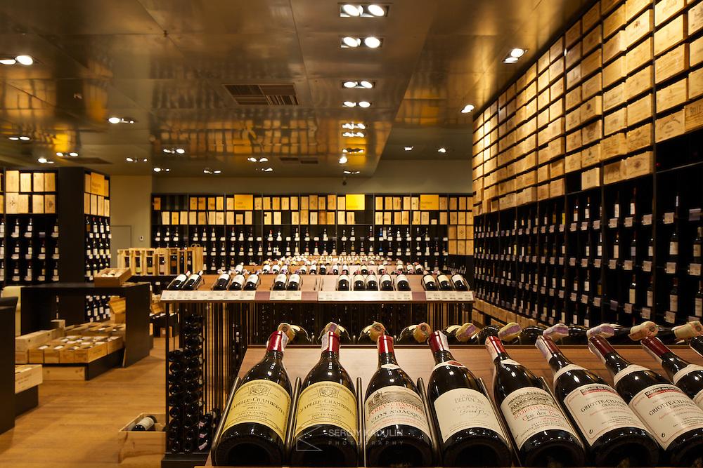Good Wine interior photoshoot. April, 2014.