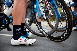 Movistar Women's Team at Lotto Thüringen Ladies Tour 2019 - Stage 2, a 116 km road race in Schleiz, Germany on May 29, 2019. Photo by Sean Robinson/velofocus.com