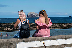 I do like to be by the seaside, North Berwick, 8 August 2019