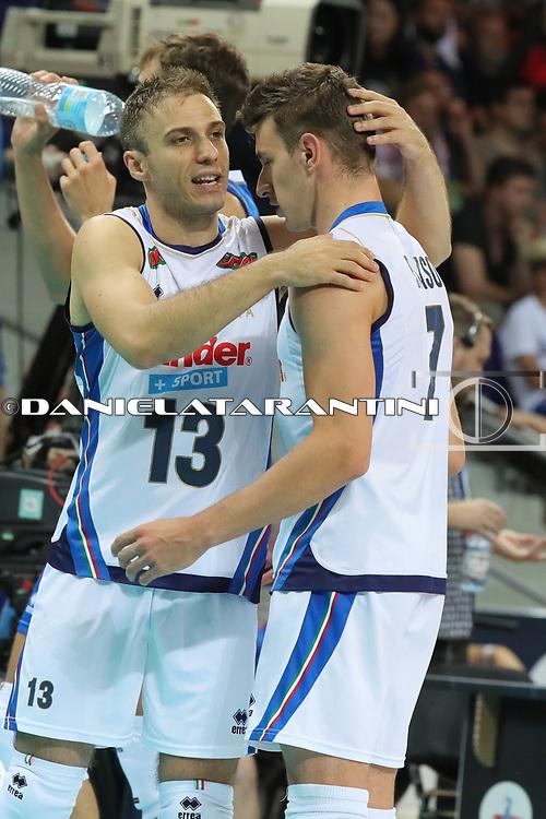 Massimo Colaci e Fabio Balso (ITA - GER CEV Volleyball European Championship - Men 2017 Europei pallavolo)