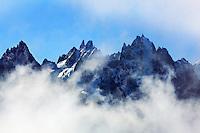 Mountain impression Aiguilles de Chamonix - Europe, France, Haute Savoie, Aiguilles Rouges, Lacs des Chesery - Forenoon - September 2008