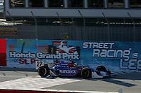 Dario Franchitti at St. Petersburg, Honda Grand Prix of St. Petersburg, April 3, 2005
