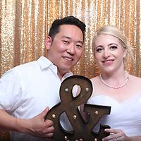Ashley and Gene Wedding Photo Booth
