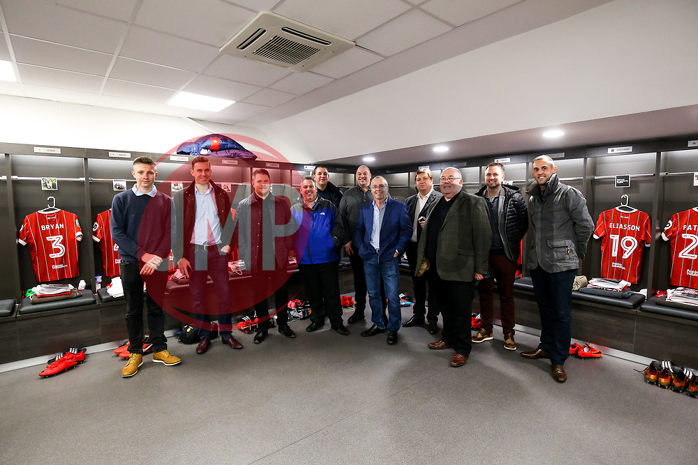 Matchday sponsors - Rogan/JMP - 20/12/2017 - Ashton Gate Stadium - Bristol, England - Bristol City v Manchester United - Carabao Cup Quarter Final.