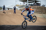 #4 (BAAUW Judy) NED at Round 3 of the 2020 UCI BMX Supercross World Cup in Bathurst, Australia.