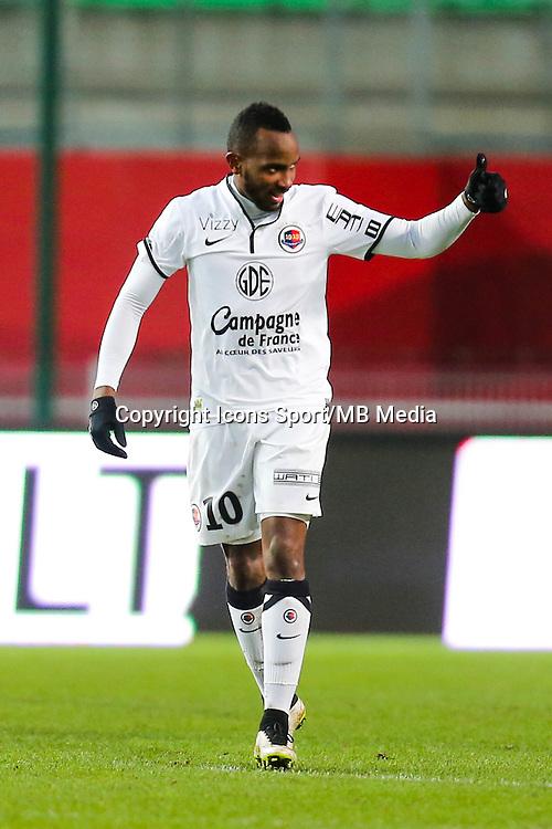 Joie Lenny NANGIS - 25.01.2015 - Rennes / Caen  - 22eme journee de Ligue1<br /> Photo : Vincent Michel / Icon Sport *** Local Caption ***