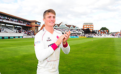 Tom Abell of Somerset applauds the crowd.  - Mandatory by-line: Alex Davidson/JMP - 22/09/2016 - CRICKET - Cooper Associates County Ground - Taunton, United Kingdom - Somerset v Nottinghamshire - Specsavers County Championship Division One