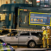 Bin Lorry crash in George Square, Glasgow Picture Robert Perry 22nd Dec 2014