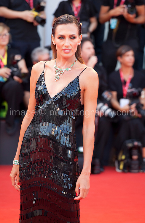 Venice, Italy, 31st August 2019, Nieves Alvarez at the gala screening of the film Joker at the 76th Venice Film Festival, Sala Grande. Credit: Doreen Kennedy