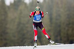 Lisa Theresa Hauser (AUT) during Women 15km Individual at day 5 of IBU Biathlon World Cup 2018/19 Pokljuka, on December 6, 2018 in Rudno polje, Pokljuka, Pokljuka, Slovenia. Photo by Ziga Zupan / Sportida