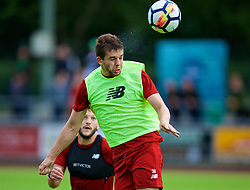 ROTTACH-EGERN, GERMANY - Friday, July 28, 2017: Liverpool's Jon Flanagan during a training session at FC Rottach-Egern on day three of the preseason training camp in Germany. (Pic by David Rawcliffe/Propaganda)