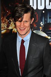 Matt Smith arrives for the 'Doctor Who: Asylum of the Daleks' TV Preview and Q&A held at the BFI Southbank London, Tuesday August 14, 2012. Photo by i-Images