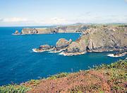 Coastal scenery near Trefin, Pembrokeshire Coast national park, Wales