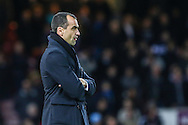 Roberto Martinez, Manager of Everton, looks on during the FA Cup match at the Boleyn Ground, London<br /> Picture by David Horn/Focus Images Ltd +44 7545 970036<br /> 13/01/2015