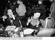 Beat Hellstein & Deborah Harry. Diffa benefit. Manhattan Opera House. New York. 26/2/94 Film 9492f34<br />