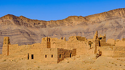 A ruined Kasbah near Zagora in southern Morocco<br /> <br /> (c) Andrew Wilson | Edinburgh Elite media