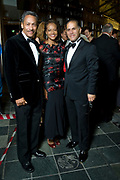 Congressman Mel Watt and his wife, Eulada, with Maestro James Meena at Opera Carolina's annual Bella Notte fundraising gala Saturday, Oct. 20, 2012, in Charlotte, NC. Photo by Wendy Yang Photography