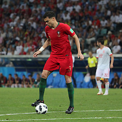 June 15, 2018 - Sochi, Russia - June 15, 2018, Russia, Sochi, FIFA World Cup, First round, Group B, Portugal vs Spain at Fisch Stadium. Player of the national team Pepe. (Credit Image: © Russian Look via ZUMA Wire)