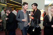 PERCY PARKER; JOY VIELI, Prada presents a book documenting the company's diverse projects in fashion, architecture, film and art. Prada Shop. 16/18 Old Bond St. London W1. *** Local Caption *** -DO NOT ARCHIVE-© Copyright Photograph by Dafydd Jones. 248 Clapham Rd. London SW9 0PZ. Tel 0207 820 0771. www.dafjones.com.<br /> PERCY PARKER; JOY VIELI, Prada presents a book documenting the company's diverse projects in fashion, architecture, film and art. Prada Shop. 16/18 Old Bond St. London W1.