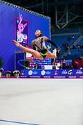 Bogdanova Alida is a gymnast of Great Britain born in Rezekne in 2002.