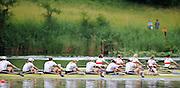 Lucerne, SWITZERLAND.   Women's Eights Final,  at the  2008 FISA World Cup Regatta, Round 2.  Lake Rotsee, on Sunday, 01/06/2008.  [Mandatory Credit:  Peter Spurrier/Intersport Images].Lucerne International Regatta. Rowing Course, Lake Rottsee, Lucerne, SWITZERLAND.