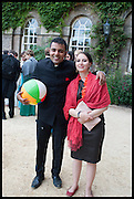 LUCAS ZEITLBERGER; LISA EDINGER, The Tercentenary Ball, Worcester College. Oxford. 27 June 2014