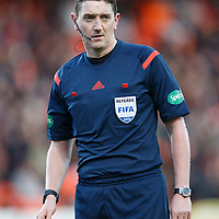 Dundee United v St Johnstone....21.11.15  SPFL,  Tannadice, Dundee<br /> Referee Craig Thomson<br /> Picture by Graeme Hart.<br /> Copyright Perthshire Picture Agency<br /> Tel: 01738 623350  Mobile: 07990 594431