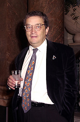 MR NORMAN ROSENTHAL of the Royal Academy of Art, at an exhibition in London on 18th September 2000.OGZ 3