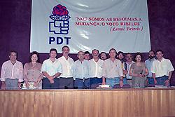 Dilma Rousseff (D) durante a eleição da Executiva Estadual do PDT – Sede do Diretório Regional do PDT – 12.12.1993. FOTO: Sérgio Néglia/Preview.com